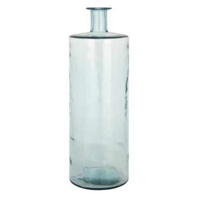 Clear Recycled Glass Giant Bottle