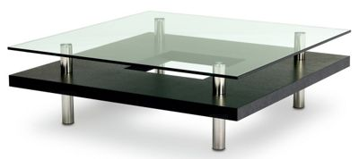 BDI Espresso Stained Oak Coffee Table
