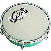 Izzo 6 inch ABS Tamborim - Green