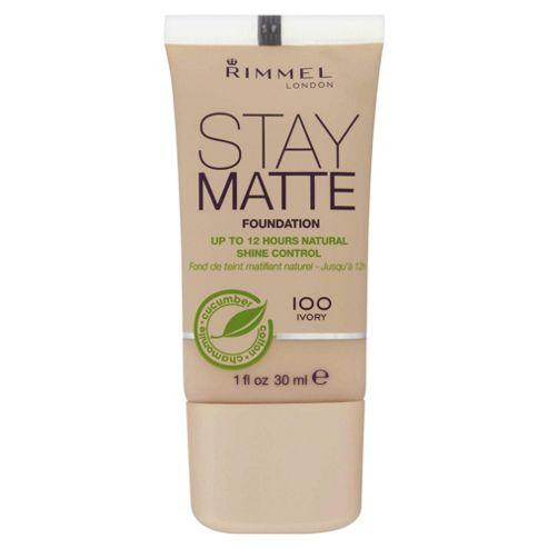 Rimmel Stay Matte Foundation Ivory