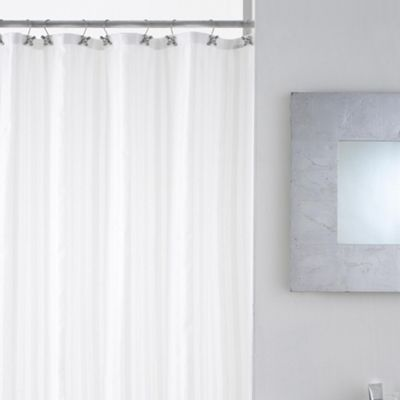 Modern Makeover Taps Shower Curtain with Hooks