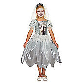 F&F Corpse Bride Halloween Costume - Grey