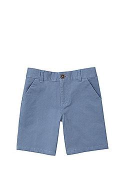 F&F Mini Dot Chino Shorts - Blue