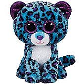 TY Beanie Boo Plush - Lizzie the Leopard 15cm (Exclusive rare)