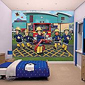 Walltastic Fireman Sam Wall Mural 8 ft x 10 ft
