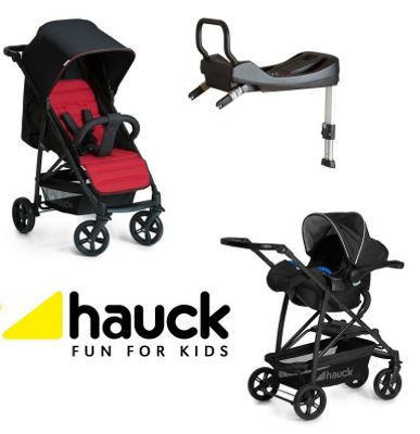 Hauck Rapid 4 Isofix Base Travel System - Caviar/Tango