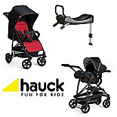 Hauck Rapid 4 Isofix Base Travel System - Caviar/Tango