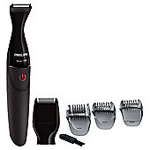 Philips MG1100/16 Mens Precision Beard Styler and Stubble Trimmer - Black