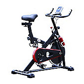 Homcom Exercise Bike Cardio trainer Resistance Aerobic LCD Adjustable