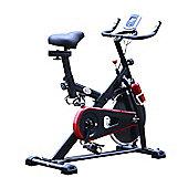 Homcom Exercise Bike Cardio trainer Resistance Aerobic LCD Adjustable