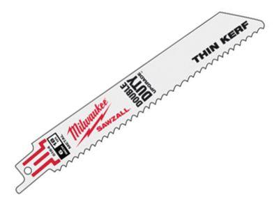 Milwaukee SAWZALL Metal Sabre Blade 150mm 18 tpi (5)