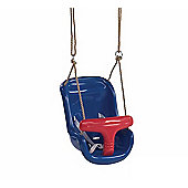 Blue & Red Baby Swing Seat