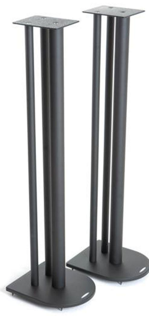 Atacama Pair of Speaker Stands in Black - Height 100cm