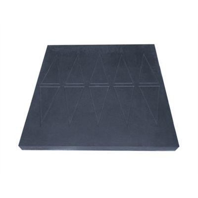 Easy Edge Threshold Rubber Ramp - 6x76x75cm