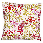 Alma Cushion Cover Red