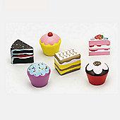 6 Piece Cake Set