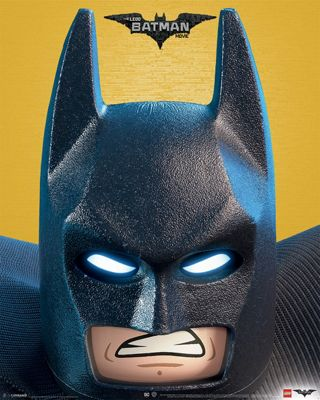 Lego Batman Close Up Mini Poster 40x50cm