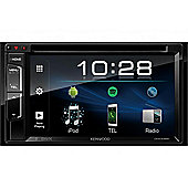 "Kenwood 6.2"" In Car Stereo-DVD Receiver│MP3│FLAC│USB│Bluetooth-2 Phone Connection│Siri│iPod-iPhone-Android"