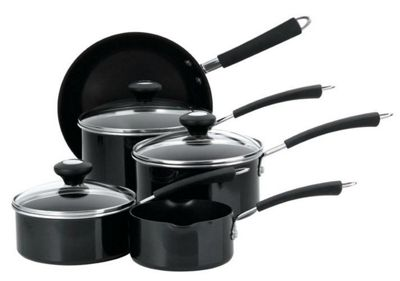 Meyer Prestige 5 Piece 10233 Cookware - Black