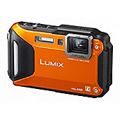 Panasonic Lumix DMC-FT5EB-D Orange