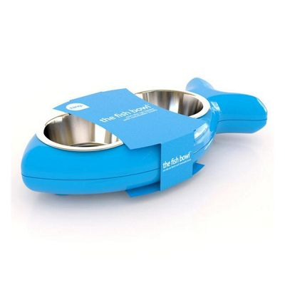 Hing Cat Bowl Fish - Blue