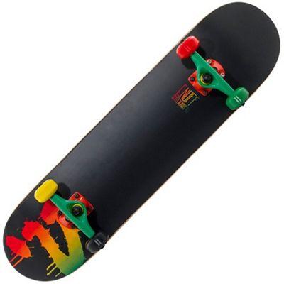 Enuff Splat Logo Rasta 7.75inch Complete Skateboard