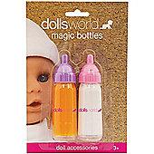 Dolls World Milk & Juice Magic Bottles