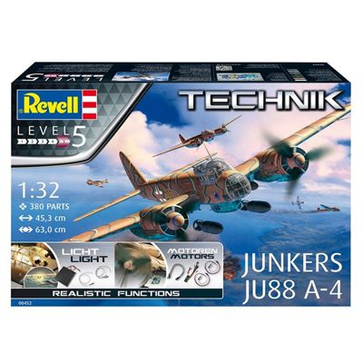 REVELL Junkers Ju 88 A-4 1:32 Aircraft Model Kit 00452