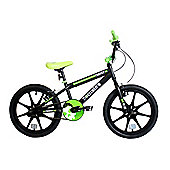 "Zombie Frenzy BMX Bike 18"" Mag Wheels Black/Green"