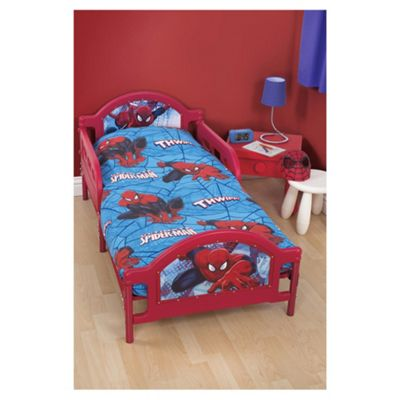 Spiderman Junior Bed Bedding Set