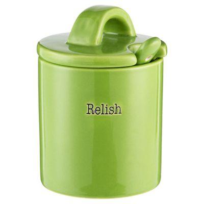 Relish Jar with Spoon