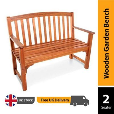 BillyOh Windsor High Back Garden Bench - 2 Seater