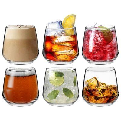 Argon Tableware 'Tallo' Water / Whisky / Juice Tumbler Glasses - Gift Box of 6 Glasses 345ml (12.1oz)