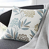 Fusion Karsten Teal 43x43cm Unfilled Cushion Cover