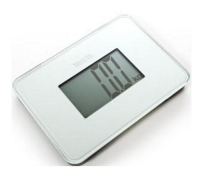 Tanita HD386/WHITE Super Compact Multi Purpose Digital Scales - Pearl White