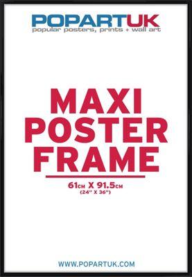 Gloss Black Poster Frame 61x91.5cm