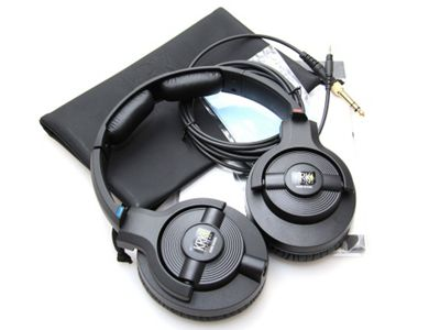 KRK KNS 6400 Black Headphones