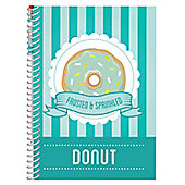 Sketch & Sniff Doughnut A5 Notepad with Smencil