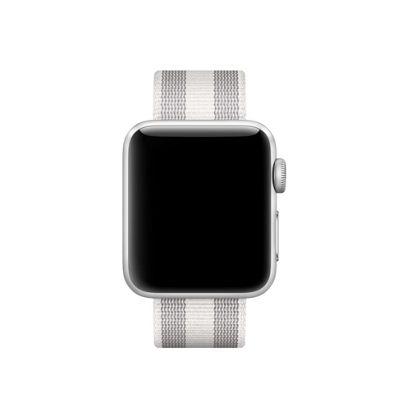 Apple MQVH2ZM/A Band White Nylon 38mm Stripe Woven
