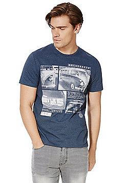 Volkswagen Campervan T-Shirt - Blue