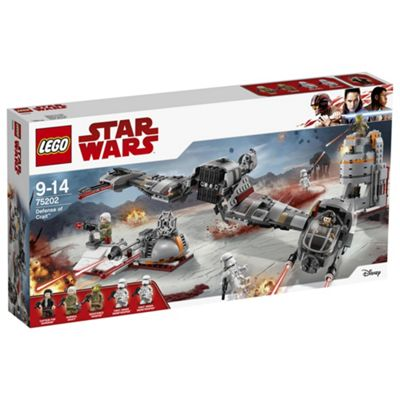 LEGO Star Wars Carver With White Planet Trench 75202