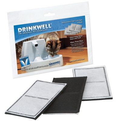 Drinkwell Pet Fountain Replacement Filter (3 pack)