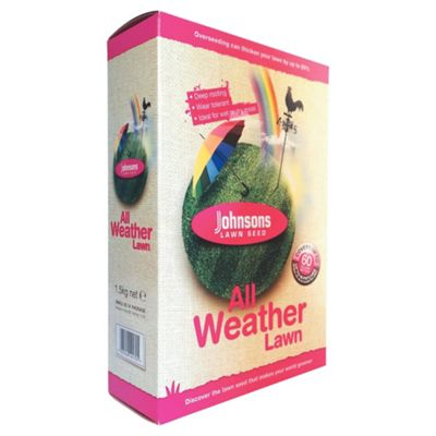 Johnsons All Weather Lawn Grass Seed 1.5 kg