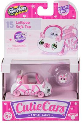 Shopkins Cutie Cars Series 1 - Lollypop Soft Top (Single Pack)
