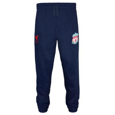 Liverpool FC Mens Jog Pants Navy Small
