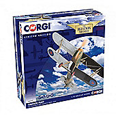 CORGI AA27302 Hawker Fury K5674 Historic 1:72 Diecast Aircraft Model