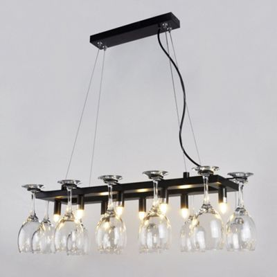 Buy Designer Style Eight Way Wine Glass Rack Ceiling Light Fitting From Our Kids Ceiling Lights