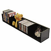 Virgil - Cd / Dvd / Blu-ray / Media Wall Storage Shelf - Black