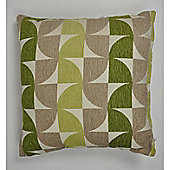 Mason Grey Windmill Green Cushion Cover - 43x43cm