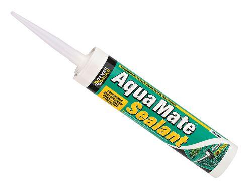 Everbuild Aqua Mate Silicone Transparent 295ml